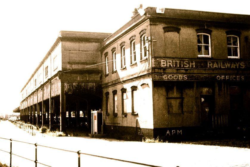 British rail goods offices