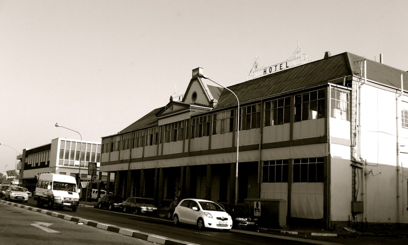 an old hotel in the town of potchefstroom