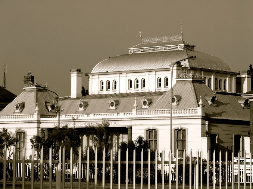 a building in the North West Province town of Potchefstroom