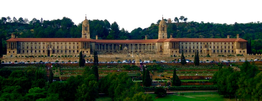 pretoria union buildings seat of south african government