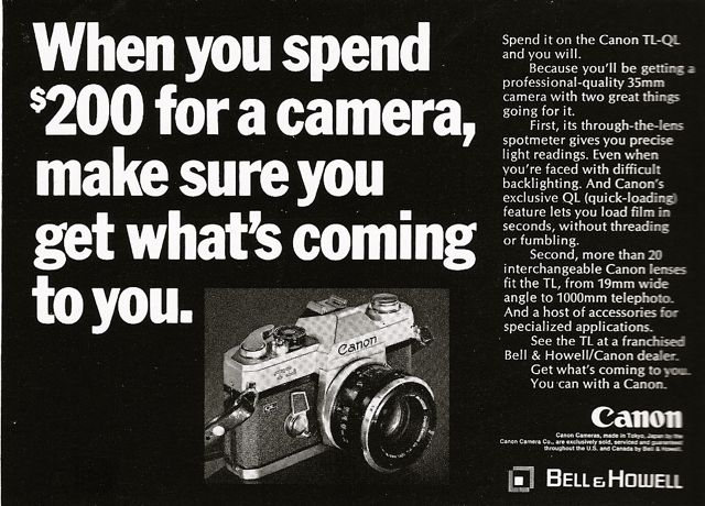 $200 canon camera ad national geographic