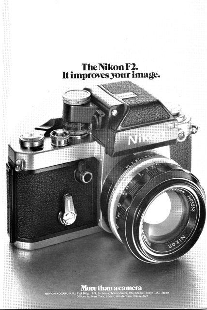nikon f3 image advertisement
