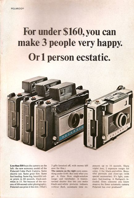 polaroid cameras advertisment national geographic