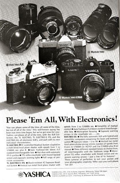 yashica 35mm slr camera ad national geogrpahic