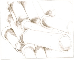drawing of stormwater drains
