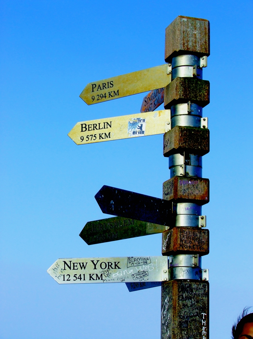 cape point signpost