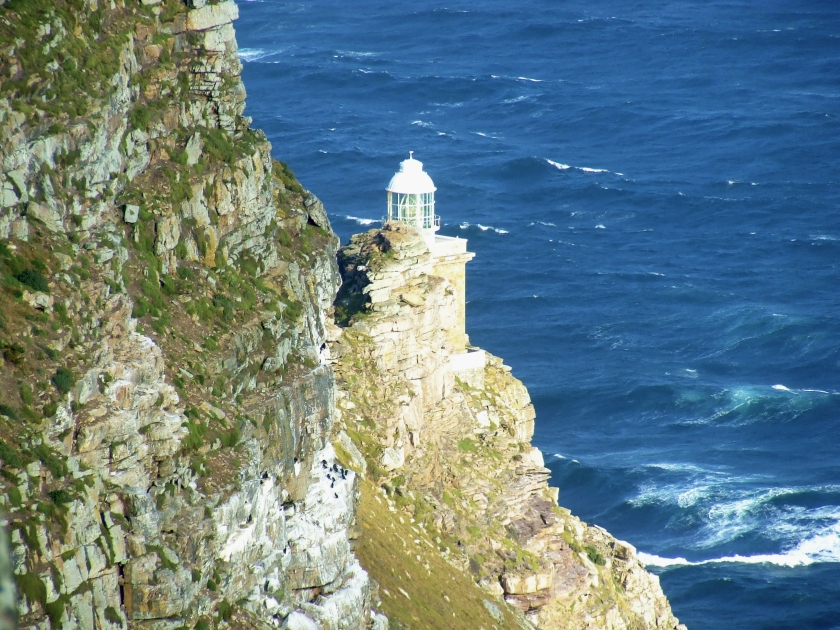 small lighthose at cape point