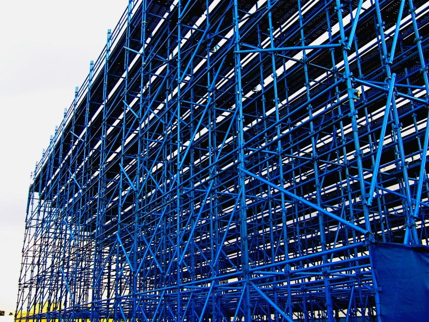 scaffolding for kyalamigrandstands