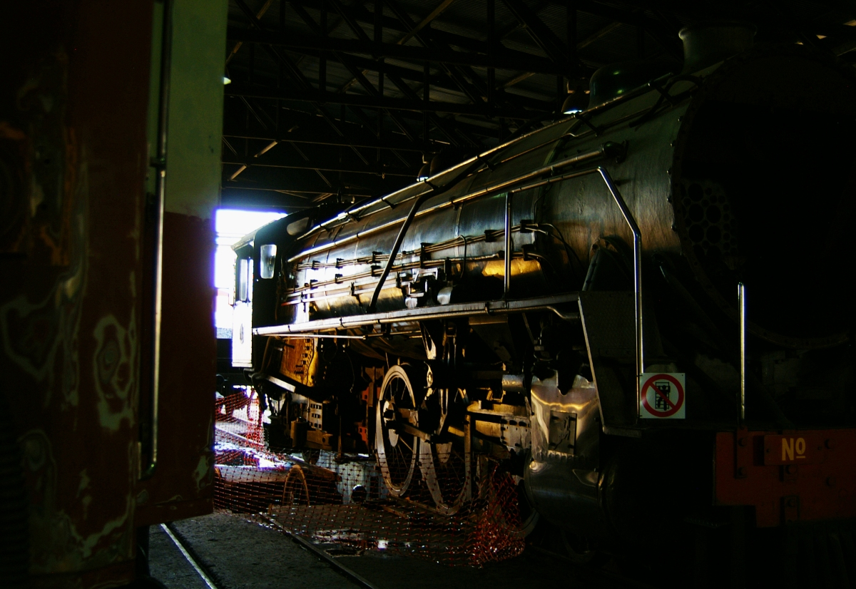 steam locos at reefsteamers germiston depot