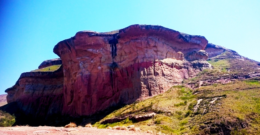 Sandstone formation in Golden Gate Highlands National Park